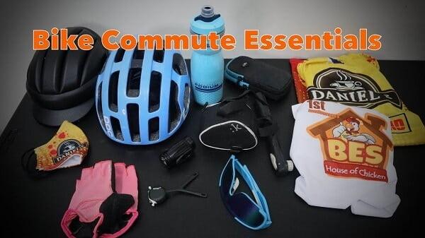 Bike commuting essentials