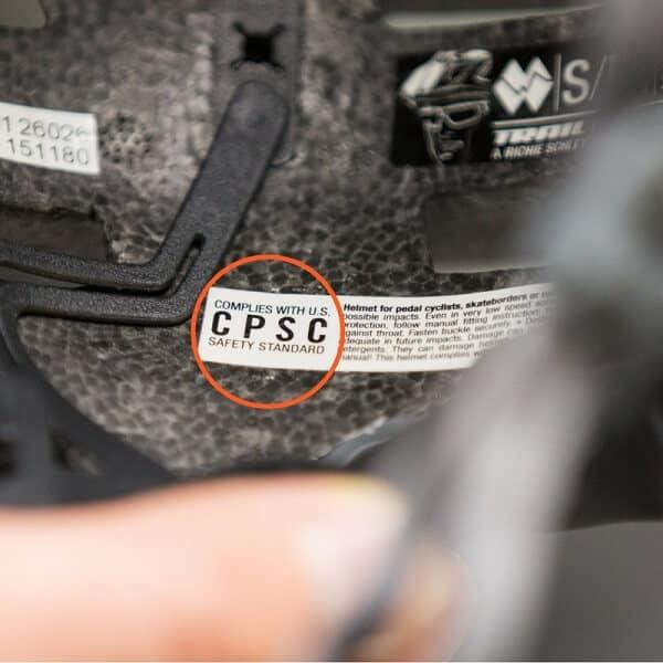 CPSC sticker