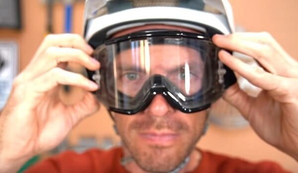 Clear glasses are best for your winter mountain bike rides