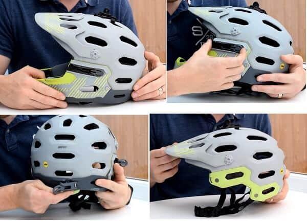Convertible helmet