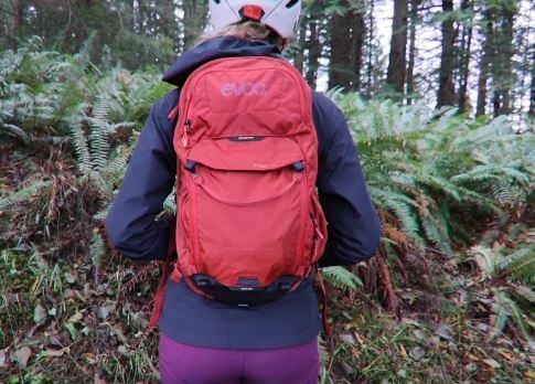 Waterproof bags for mountain biking