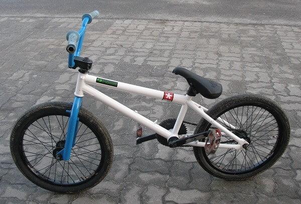 BMX bike wheels