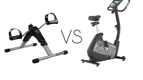 Pedal Exerciser vs Stationary Bike