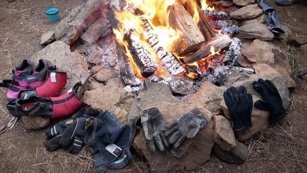 warm your gear