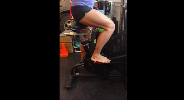 Barefoot exercise