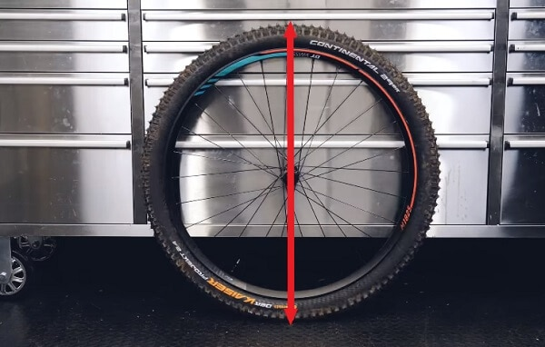 MTB tire diameter