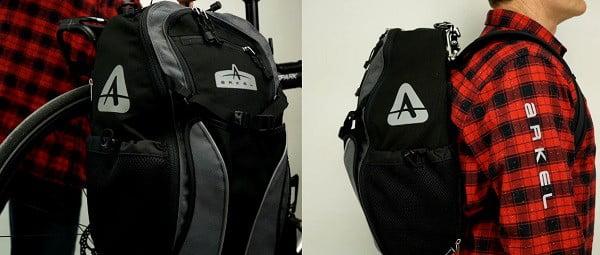 Convertible backpack pannier