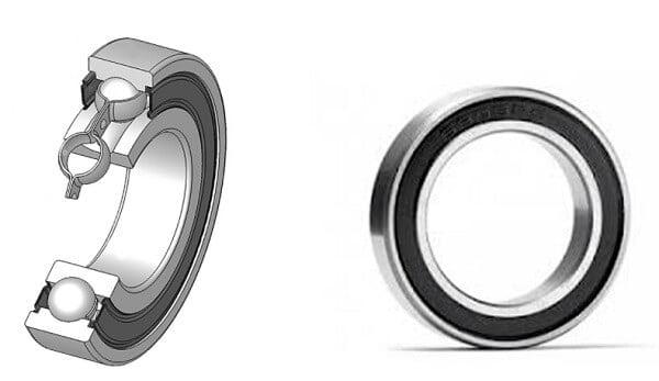 Sealed cartridge bearing